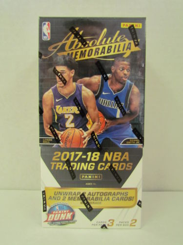 2017/18 Panini Absolute Memorabilia Basketball Hobby Box