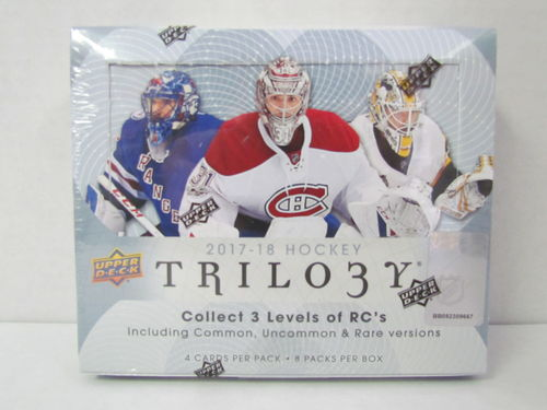 2017/18 Upper Deck Trilogy Hockey Hobby Box