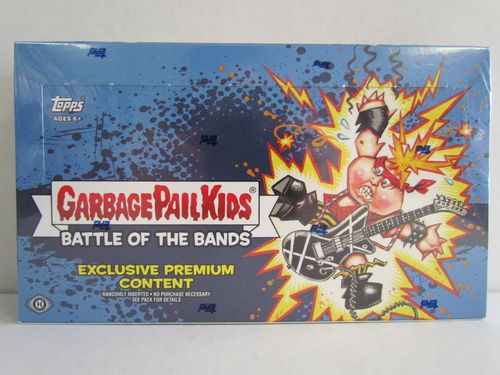 2017 Topps Garbage Pail Kids Series 2 Battle of the Bands Collector's Box