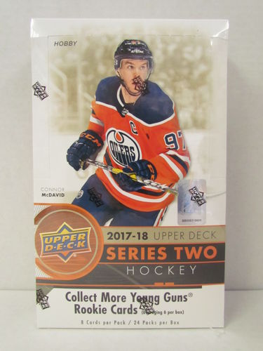 2017/18 Upper Deck Series 2 Hockey Hobby Box