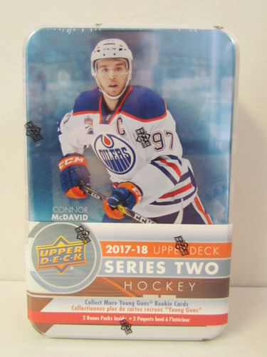 2017/18 Upper Deck Series 2 Hockey Tin
