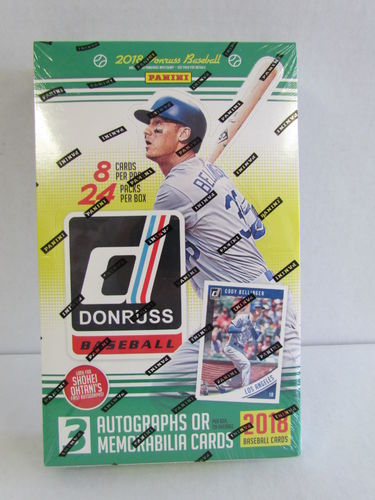 2018 Panini Donruss Baseball Hobby Box