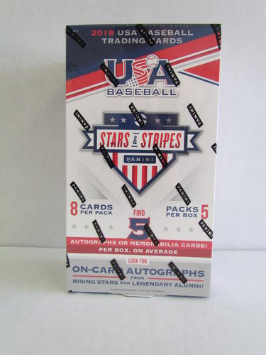 2018 Panini USA Baseball Stars & Stripes Hobby Box