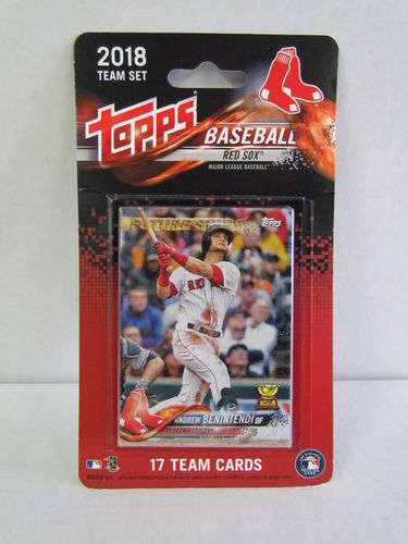 2018 Topps Team Set Boston Red Sox
