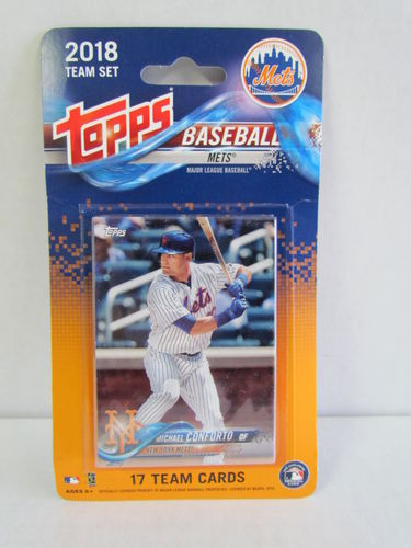 2018 Topps Team Set New York Mets