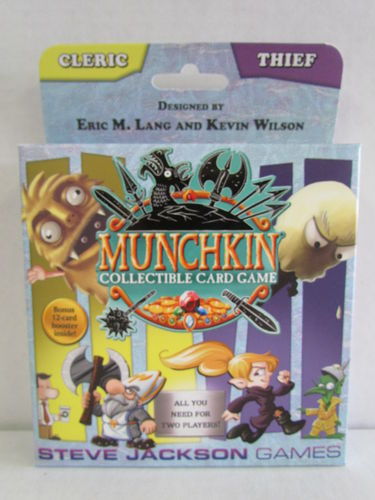 Munchkin Collectible Card Game Season 1 Cleric/Thief Starter Deck