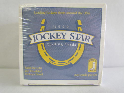 1999 Horse Star Jockey Trading Cards Factory Set