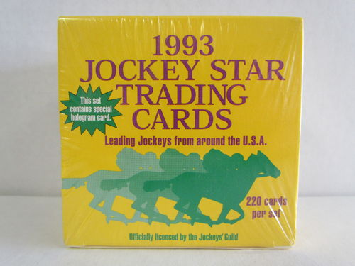 1993 Horse Star Jockey Trading Cards Factory Set