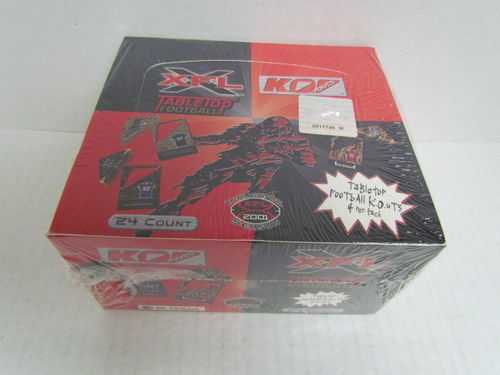 2001 Artbox XFL Tabletop Football Box