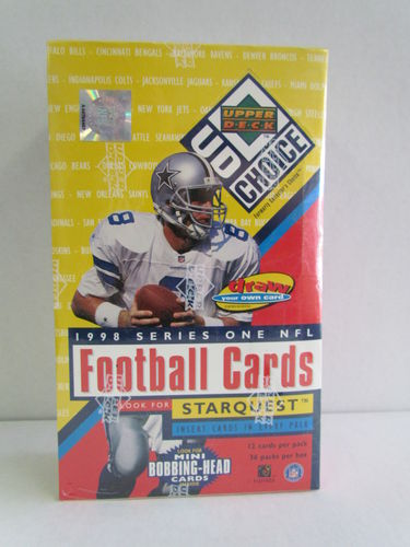 1998 Upper Deck Collector's Choice Series 1 Football Hobby Box