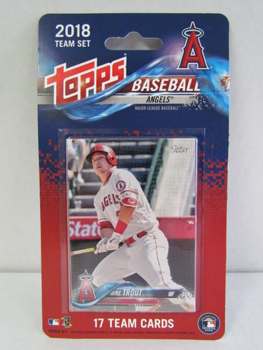 2018 Topps Team Set Los Angeles Angels