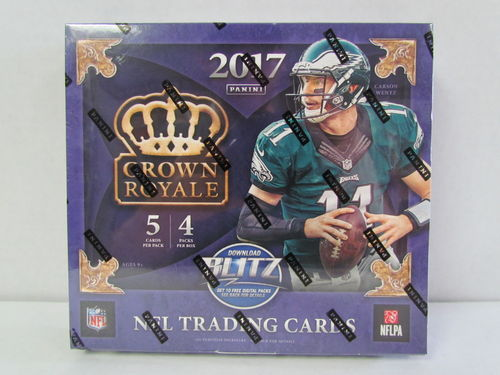 2017 Panini Crown Royale Football Retail Box