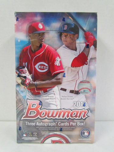 2018 Bowman Baseball Jumbo Box