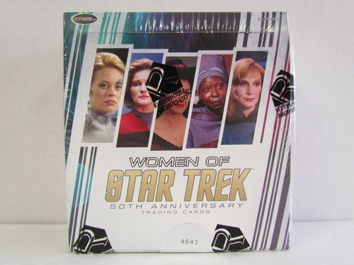 Rittenhouse The Women of Star Trek 50th Anniversary Hobby Box
