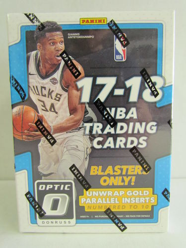 2017/18 Panini Optic Basketball Blaster Box