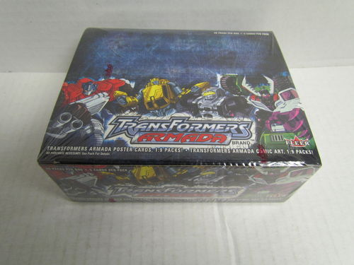 Fleer Skybox Transformers Armada Hobby Box