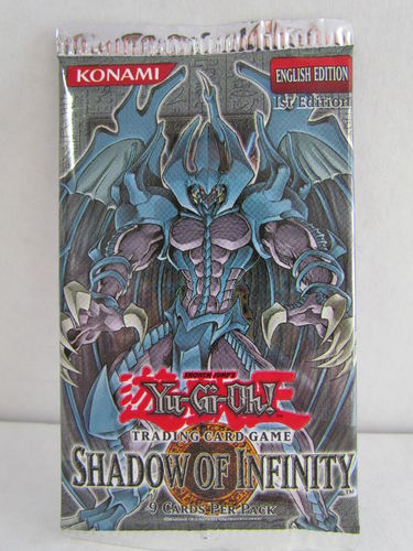 YuGiOh Shadow of Infinity 1st Edition Booster Pack