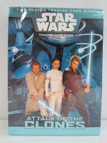 Star Wars Attack of the Clones Two-Player Trading Card Game
