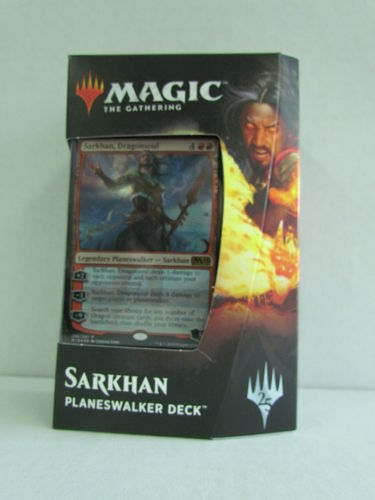 Magic the Gathering 2019 Core Set Planeswalker Deck SARKHAN