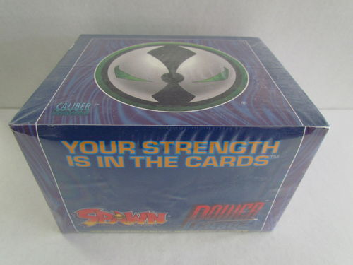 Spawn Power Cardz Trading Card Game Booster Box