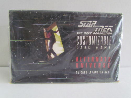 Decipher Star Trek Alternate Universe Booster Box