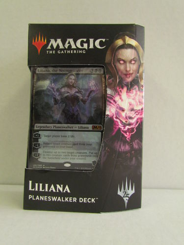 Magic the Gathering 2019 Core Set Planeswalker Deck LILIANA