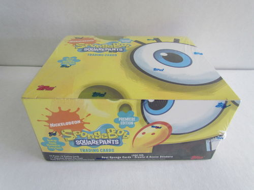 Topps Spongebob Squarepants Premier Edition Box