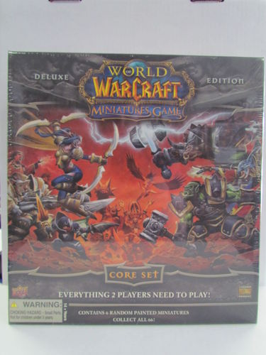 World of Warcraft Miniatures Game Core Set Deluxe Edition