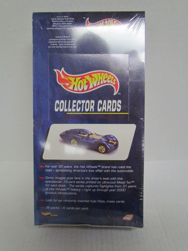 Comic Images HOT WHEELS Collector Trading Cards Box