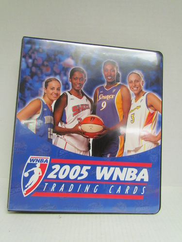2005 Rittenhouse WNBA Album Binder