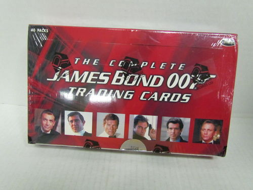 Rittenhouse The COMPLETE JAMES BOND 007 Trading Cards Box