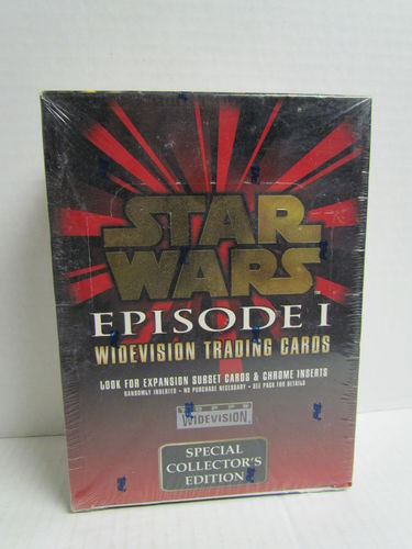 Topps STAR WARS EPISODE I Widevision Hobby Box