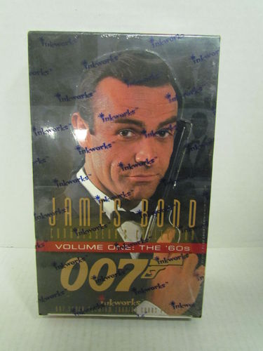 Inkworks JAMES BOND 007 Volume One: The 60s Trading Cards Box