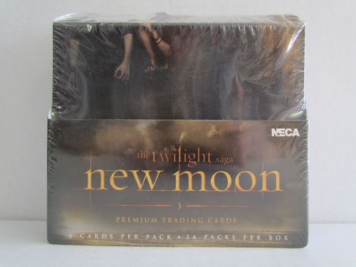 NECA Twilight New Moon Premium Trading Card Box