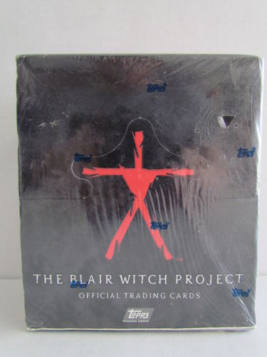 Topps The Blair Witch Project Box