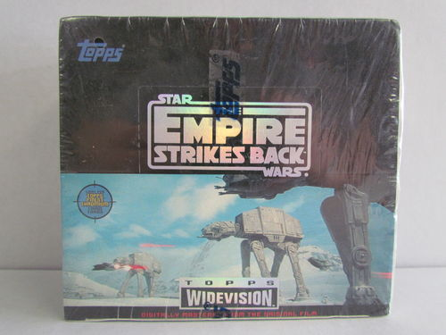 Topps Star Wars The Empire Strikes Back Widevision Trading Cards Box