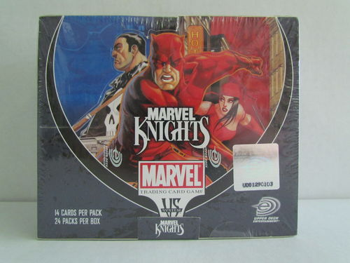 Upper Deck VS System Marvel Knights Booster Box