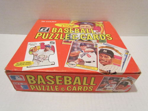 1982 Donruss Baseball Wax Box