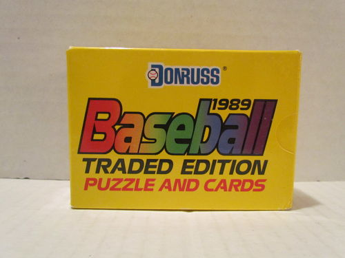 1989 Donruss Traded Baseball Factory Set