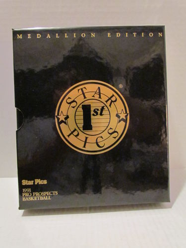 1991/92 Star Pics Pro Prospects Medallion Edition Basketball Factory Set