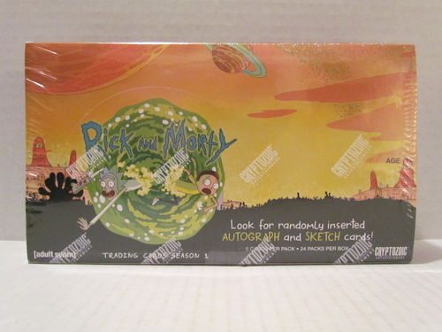 Cryptozoic RICK & MORTY Season 1 Trading Cards Box