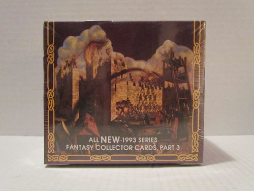 1993 TSR Advanced Dungeons and Dragons Fantasy Collector Card Part 3 Box