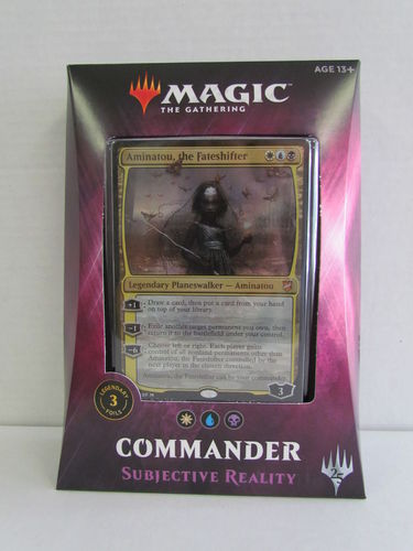 Magic the Gathering Commander 2018 SUBJECTIVE REALITY