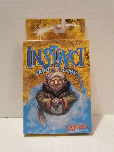 Wizards of the Coast INSTINCT Card Game (Package opened)