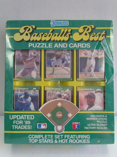 1989 Donruss Baseball's Best Factory Set