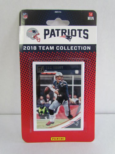 2018 Panini Donruss Football Team Set NEW ENGLAND PATRIOTS