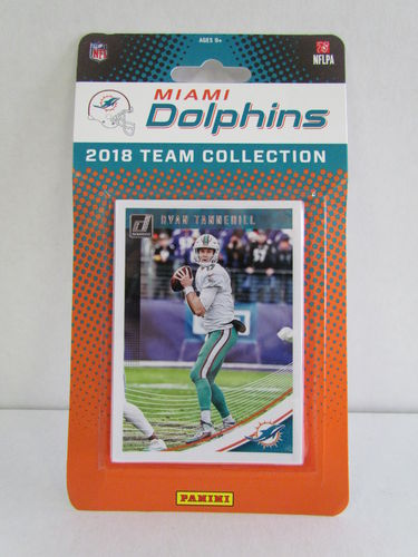 2018 Panini Donruss Football Team Set MIAMI DOLPHINS
