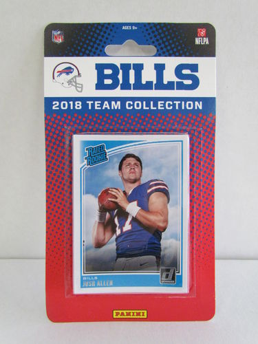 2018 Panini Donruss Football Team Set BUFFALO BILLS