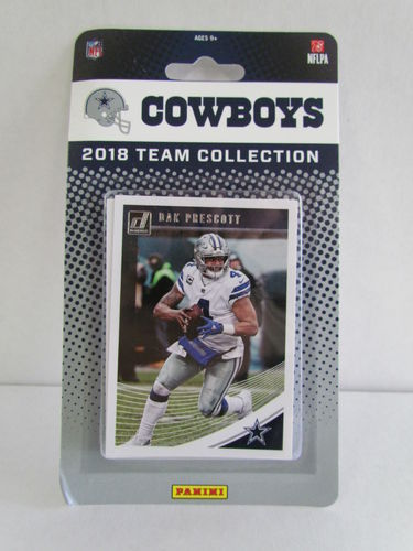 2018 Panini Donruss Football Team Set DALLAS COWBOYS