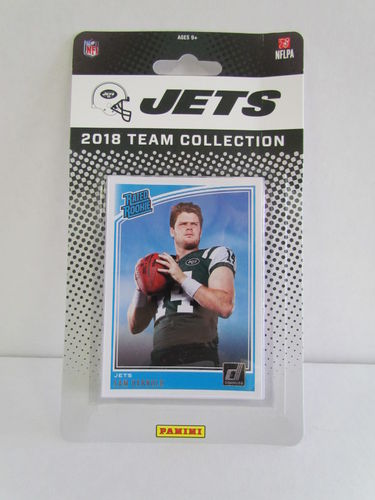 2018 Panini Donruss Football Team Set NEW YORK JETS